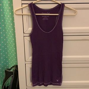 American eagle women's racer back tank top